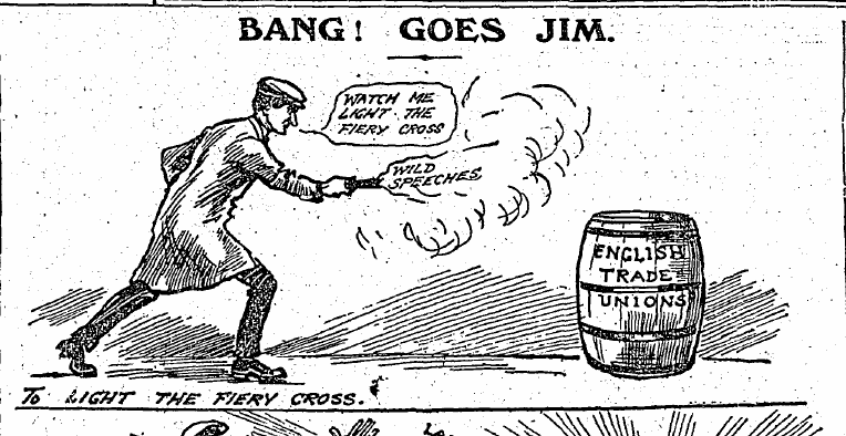 More Sunday Independent cartoons from during the 1913