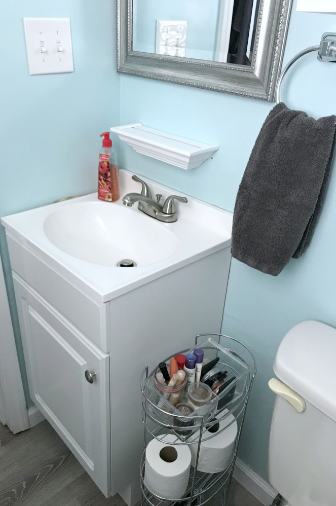Bathroom Remodel Reveal On A Budget Come Home For Comfort