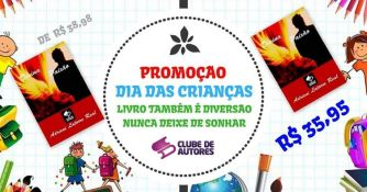 Promoção Dia das Crianças no Comenta Livros