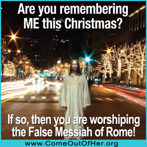Christmas is pagan and not Scriptural
