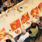 Each paint and wine class is different, be sure to try many