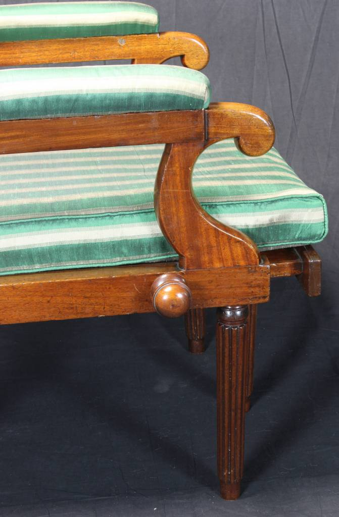 19th Century English Campaign Chair  Comer  Co