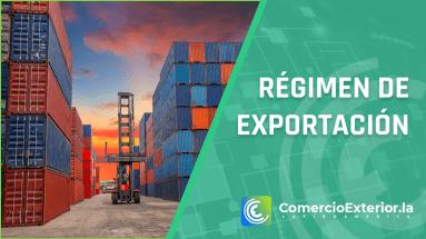 Régimen de exportación perú