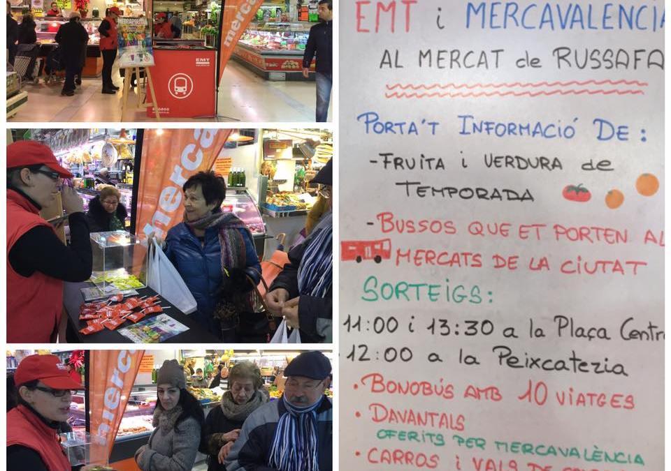 EMT Experience en el Mercado de Ruzafa