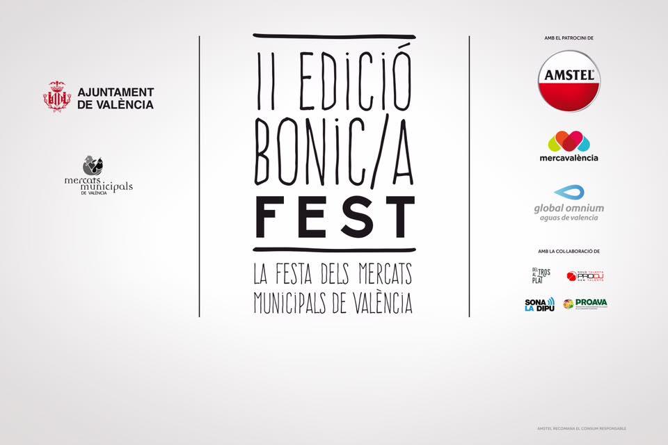 Llega la II Edición del Bonic/a Fest a los mercados municipales de Valencia