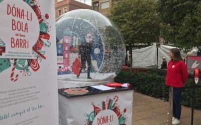 'Dona-li bola al teu barri' i dinamitza el comerç de València