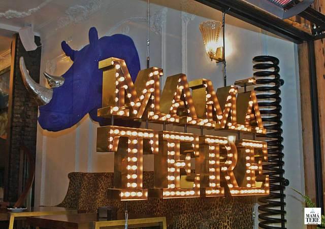 local y decoración restaurante Mamá Tere