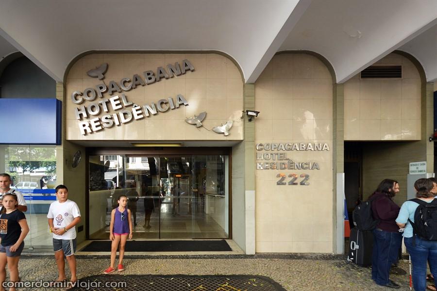 Copacabana Suites By Atlantica - fachada - comerdormirviajar.com