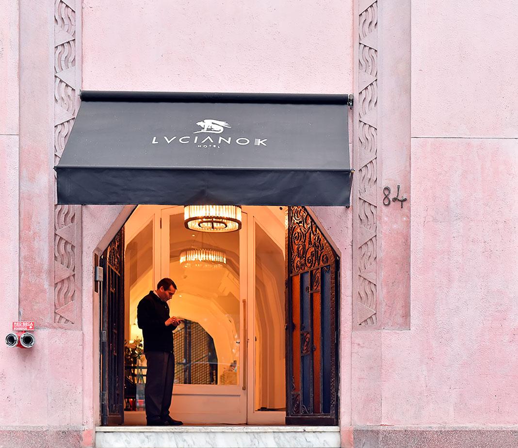 Luciano K Hotel, Arte e Arquitetura em Santiago - Chile | COMER. DORMIR. VIAJAR.
