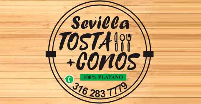 Comidas Rápidas Tosta Conos -  Comer en Sevilla ¡Todo el Sabor de un Pueblo Mágico! Sevilla Valle