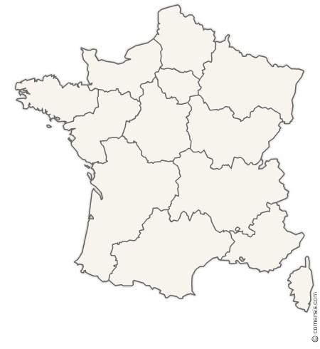 Carte Office nouvelles régions de France