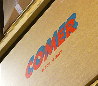 Comer product box