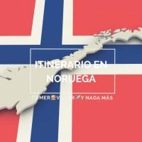 Planificación itinerario en Noruega para una semana