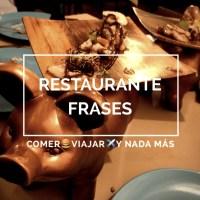 Restaurante Frases en Murcia: Cocina desde la ilusión