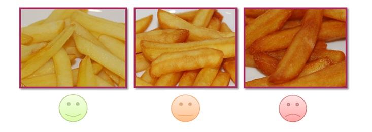 patatas fritas acrilamida