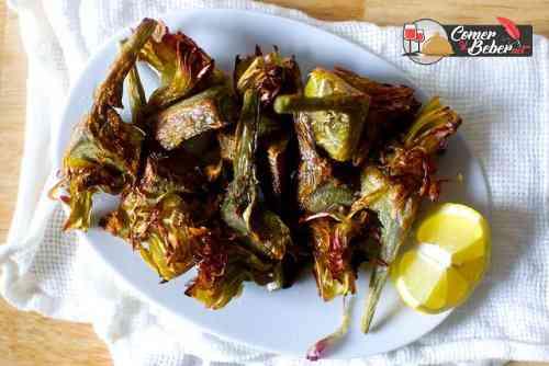 receta alcachofas fritas