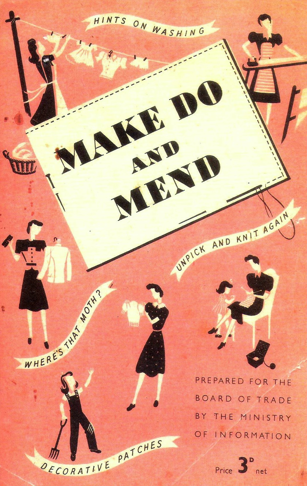 Rationing Fashion In S Britain Make Do Amp Mend Come