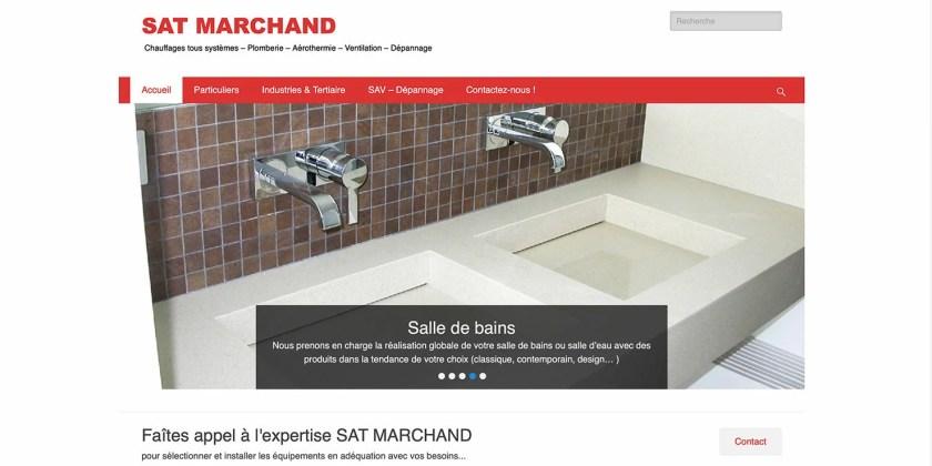Site Internet SAT Marchand