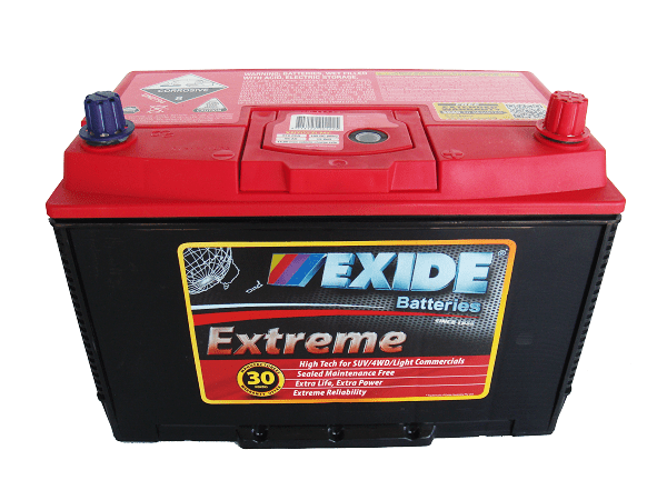 EXIDE EXTREME XN70ZZLMF D