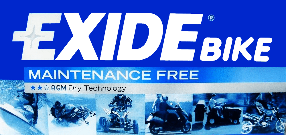 Exide Bike Logo B 3