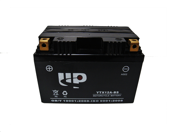UP MOTORCYCLE BATTERY YTX12A-BS D