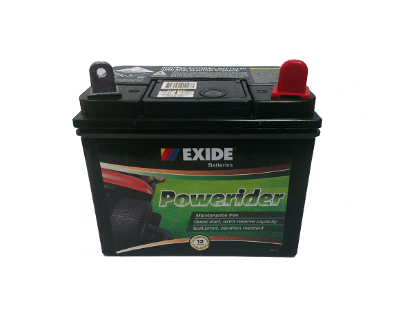 Exide Powerider U1lmf Ride On Mower Battery Comet