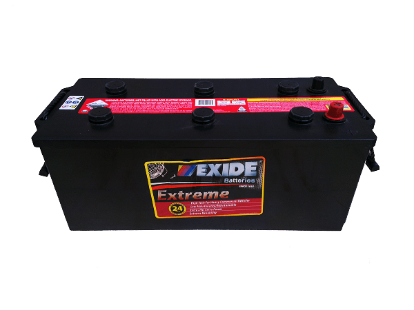 EXIDE EURO EXTREME TRUCK BATTERY N120 D