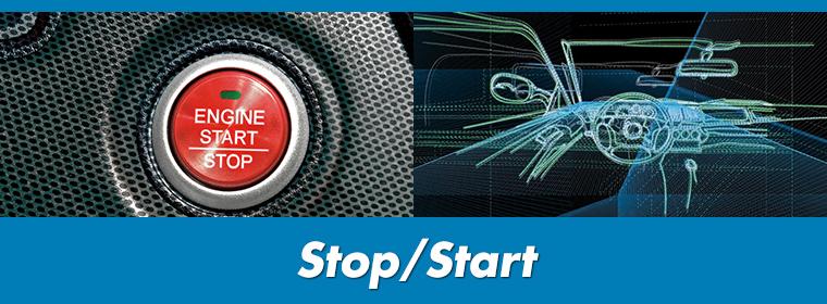 Exide Stop Start Banner