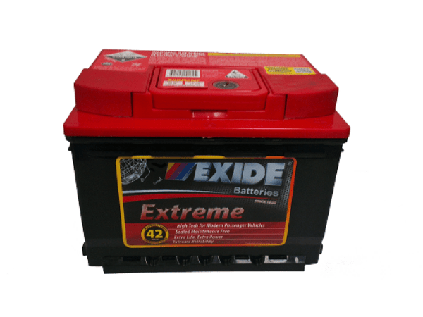 exide extreme xdin55mf for ford focus courier 4 0lv6 transit petrol diesel comet battery