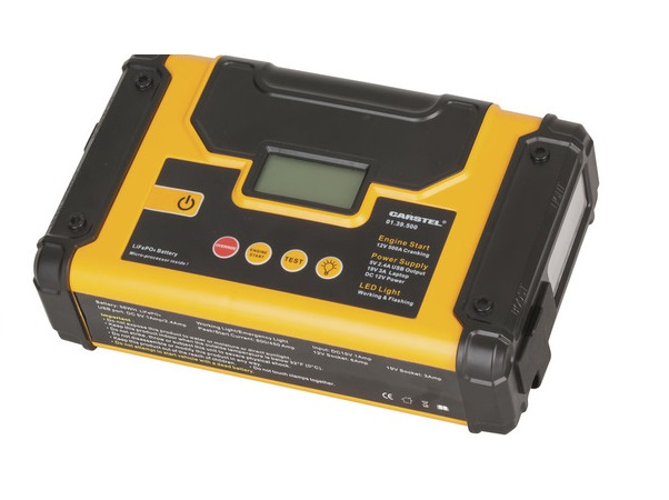 LiFePo4 12V 450A Jump Starter with LCD