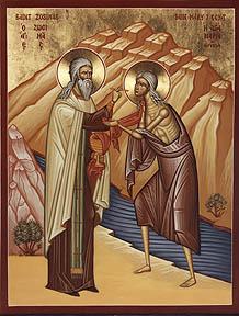 Οσία Μαρία η Αιγυπτία - Saint Mary of Egypt