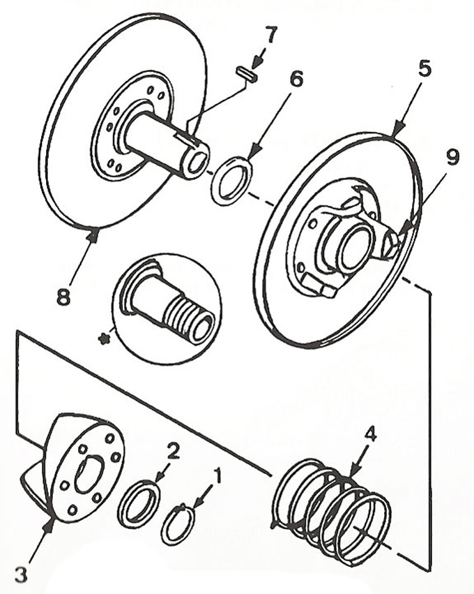Comet 40 Series Driven Unit Parts :: Comet 40 Series