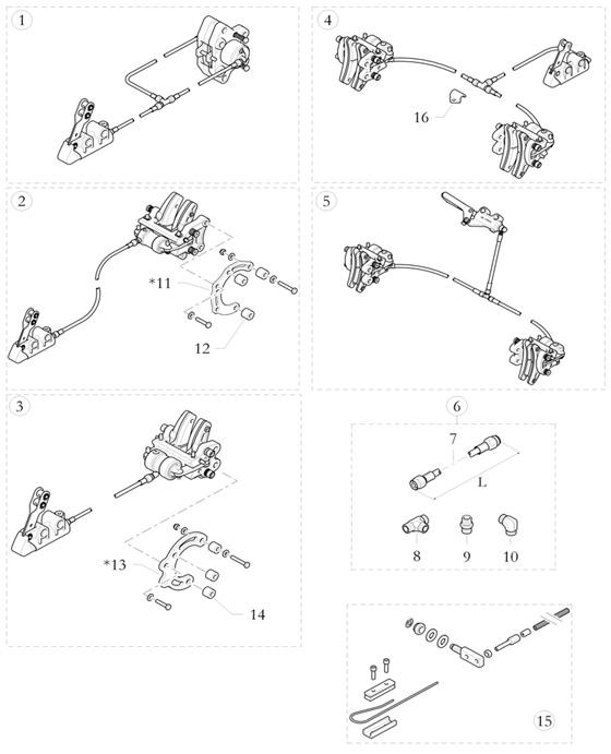 Birel Brake Parts and Brake Systems :: Birel ART Kart