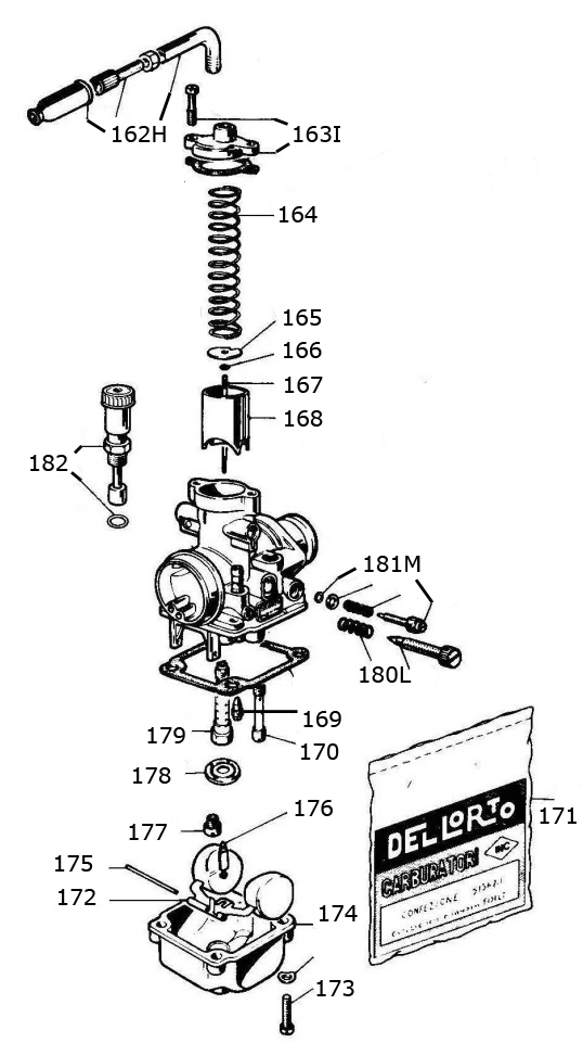 2 cycle engine carburetor diagram 2002 mitsubishi pajero wiring mini rok parts :: vortex 2-cycle engines