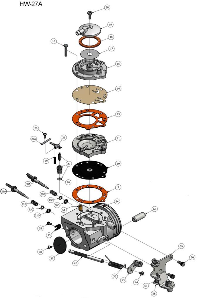 Tillotson Carburetor :: Carburetors :: Engines & Parts