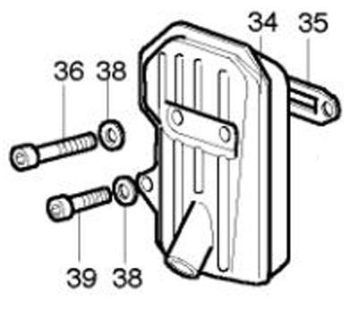 K-80 Exhaust Parts