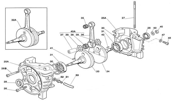 IAME Mini Swift Engine Parts :: 2-Cycle Engine Parts