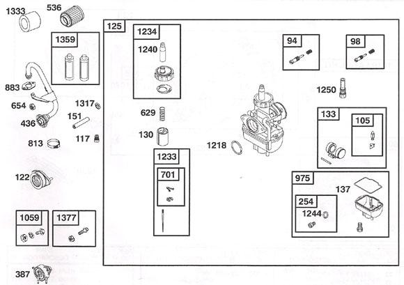 436. 557164 World Formula Exhaust Manifold :: Briggs World