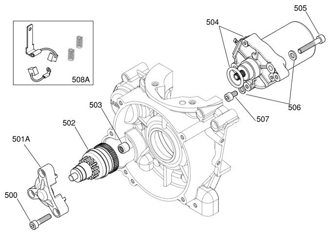 (508A) IA-A-60851A-C X30 Starter Brush Kit :: X30 Starter