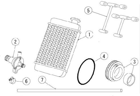 4. PRD Water Pump O-Ring :: PRD Radiator and Cooling Parts