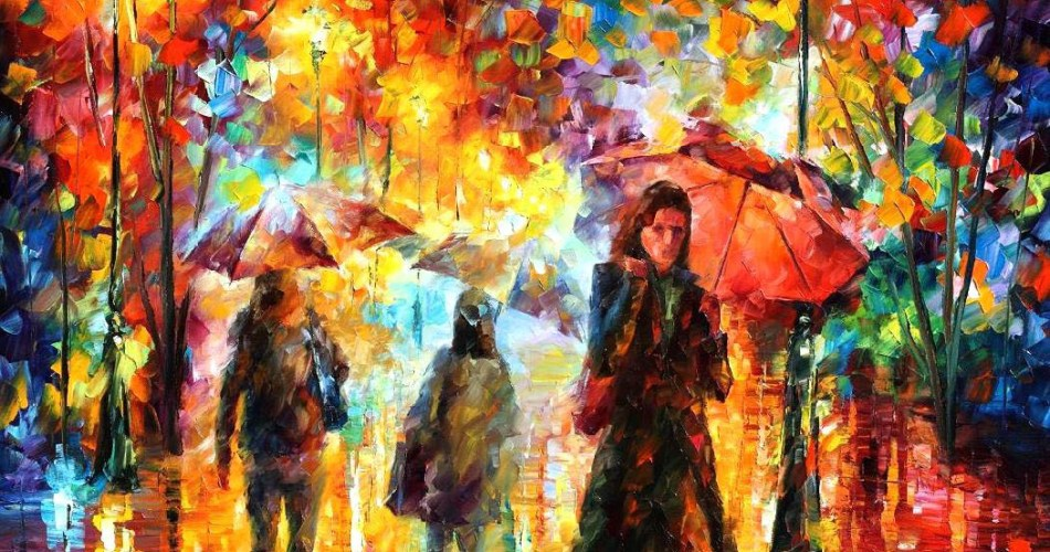 Oil Painting on Canvas by Leonid Afremov