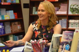 Eliza Gordon at book signing