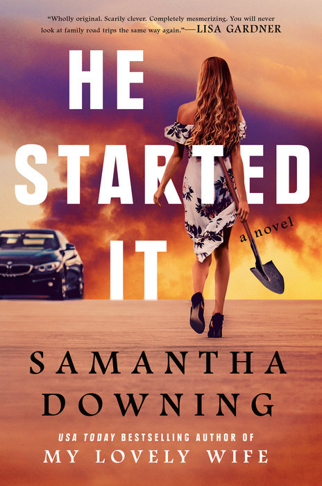 He Started It book cover