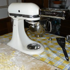 Kitchen Aid Pasta Press Hutch For Sale La Fatta In Casa Con Kitchenaid | Come Una Volta...