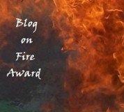 Award: Blog on Fire