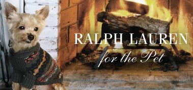 Fashion Friday: Ralph Lauren For Pets