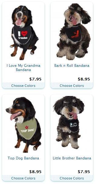 Fashion Friday: Dog Bandanas