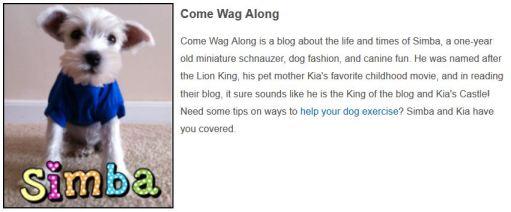 top pet blogs