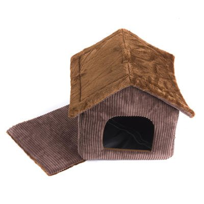 Portable Dog House - My Favorite Pet Shop - Brown