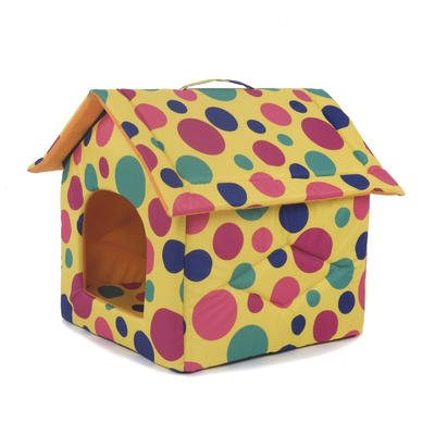 Portable Dog House - My Favorite Pet Shop - Polka Dot